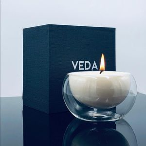 Handmade soy wax VEDA candle 12Oz